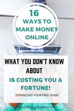 This free guide gather the 16 best ways to make money and multiply your streams of passive income online. Download your free copy now. #makemoneyonline #passiveincome #socialmediamarketing #contentcreator Make Money From Home, Way To Make Money, Make Money Online, How To Make, Internet Marketing, Social Media Marketing, Lost Money, Passive Income, Affiliate Marketing