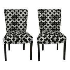 @Overstock - Give your home a new look with these fun and fashionable Julia Chaines dining chairs from Sole Designs. This set of two chairs features a black and white fabric upholstery with an attractive black finish on the legs.http://www.overstock.com/Home-Garden/Sole-Designs-Julia-Chaines-Dinning-Chairs-Set-of-2/7568855/product.html?CID=214117 $244.99