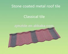 Africa building materials roofing materials stone coated metal roof tiles.