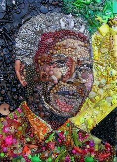 Nelson Mandela by Jane Perkins Proving One Man's Junk Is Indeed Another's Treasure