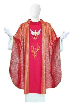 Chasuble Holy Spirit. Made in Italy. info@tiemmecreazioni.it