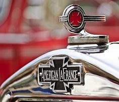 1936 American Lafrance Fire Truck Hood Ornament