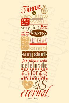 Shakespeare Quote Poster. Love it!