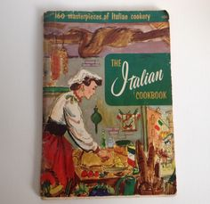 Vintage Cookbook 1955 The Italian Cook Book Italy Culinary Arts Institute by aroundtheclock on Etsy