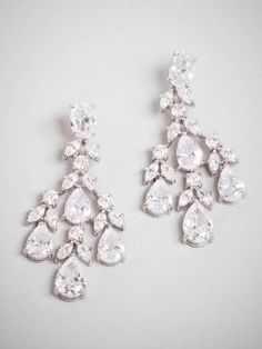 there is nothing more glam than a chandelier earring