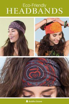 6d498bd463b9 Eco-Friendly Sun Salutation Yoga Headband