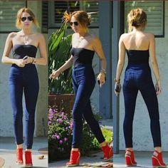 Fashion Pure Color High Stretch Skinny Pants