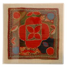 19thc Rare Linsey-Woosey Quilt