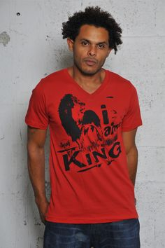 I am King Cooyah® t-shirt #fashion #reggae #rasta