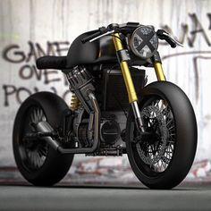 Here's a bike that I'm actually building. #Honda #cx500 #cx650 #plasticmaggot #caferacer #caferacers #scrambler #streettracker #dropmoto #builtnotbought #c4d #design #inspiration #caferacerculture #caferacerporn #custom #kawasaki #cb750
