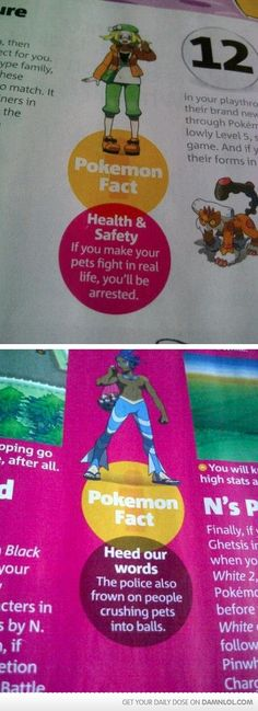 The police also frown on people crushing pets into balls... SHOW THIS TO CHILDREN WITH PETS THAT ARE 5 OR SOMETHING...