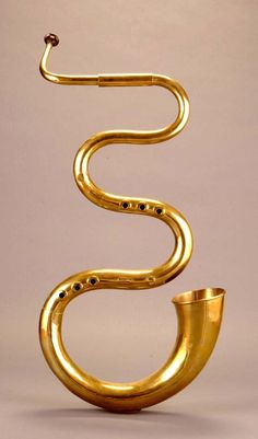 Serpent in D by Nicolas Pierre Joly, France, 1829 | Joe R. and Joella F. Utley Collection, NMM 7331