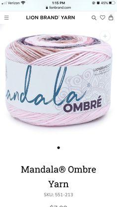 Ombre Yarn, Lion Brand Yarn
