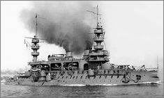 Vintage photographs of battleships, battlecruisers and cruisers.: French predreadnought battleship Charles Martel.