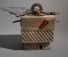 """NOMI - """"Only"""" - A Fine Art Box or Urn of Concrete and Iron from TheCeremonialHome in Neskowin, OR"""