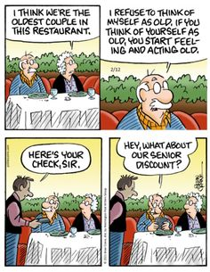 Old Couples, Getting Old, Comic Strips, Thinking Of You, Acting, Cartoon, Feelings, Comics, Funny