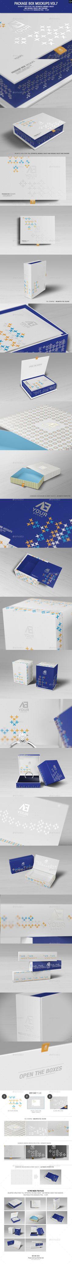 Package Box Mockups Vol7 - Packaging Product Mock-Ups