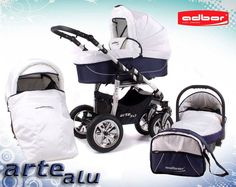 Pefect travel set.. stroller Kinderwagen bebek arabasi   Adbor, ARTE ALU 3x3, 3-in-1 - Krümel-Shop, rund ums Baby und Kind