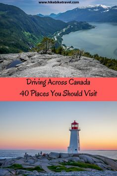 Driving Across Canada: 40 Places You Shouldn't Miss – Hike Bike Travel – Best Travel Destinations Places To Travel, Travel Destinations, Places To Go, Vacation Travel, Vacations, Cruise Travel, Vacation Places, Travel Packing, Travel Luggage