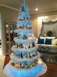 Department 56 North Pole Tree. What to do with your Department 56 Christmas village!