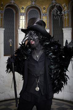 First Annual MYTH Masquerade Ball  ~ THE RAVEN KING | Photo: Daniel Bergeron | www.mythmasque.com | www.facebook.com/mythmasque