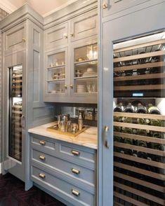 Kitchen Pantry ~ my color, my hardware. YES Kitchen Pantry ~my color, my hardware. YES - Own Kitchen Pantry Kitchen Pantry, Kitchen And Bath, New Kitchen, Kitchen Decor, Kitchen Wine Racks, Pantry Room, Küchen Design, Home Design, Layout Design
