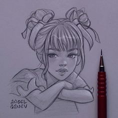 When you want to draw a hot chick but it ends up looking like a 7 year old baby girl 😭😂 Baby Girl Drawing, Girl Drawing Sketches, Girly Drawings, Cartoon Girl Drawing, Art Drawings Sketches Simple, Pencil Art Drawings, Realistic Drawings, Cartoon Drawings, Cartoon Art