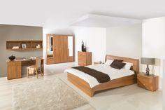 MERIS SYPIALNIA białe pomieszczenie sypialniane w domu