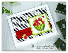 Stampin Up Fruit Basket Cards from Stampinwithsandi.com