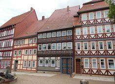 fachwerk in duderstadt-deutschland