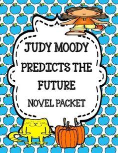 Judy Moody Predicts the Future - Novel Study Packet