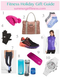 Fitness Holiday Gift Guide! #fitness #fitfam #wishlist #holiday #christmas #giftideas #fashion #workout #exercise #fitnessmotivation #motivation #holidays #gift #zella #nordstrom