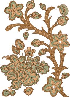 Textile Pattern Design, Textile Patterns, Textile Prints, Botanical Flowers, Flowers Nature, Paisley, Chinese Paper Cutting, Rose Tattoos, Tattoo Roses