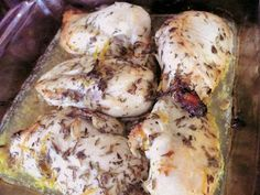 Maman Mélanie cuisine: Poulet citron lavande