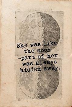Part of her was always hidden away
