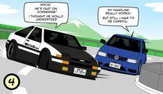 Toyota+AE86+.VS.+VW+Polo+6N+(part+4)+by+VolksGTiFox.deviantart.com+on+@DeviantArt