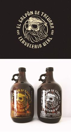 50 Creative Logos & Branding Designs for Craft Breweries - 50 Creative Logos & Branding Designs for Craft Breweries - Brewery Logos, Beer Brewery, Home Brewing Beer, Craft Beer Brands, Craft Beer Labels, Wine Labels, Beer Logo Design, Brewery Design, Logo Branding