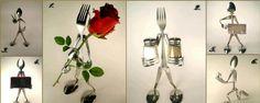1000  ideas about Silverware Art on Pinterest | Silverware jewelry ...