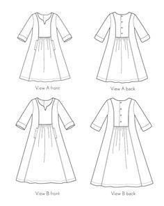Liesl & Co. Cinema Dress pattern