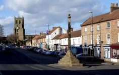 Bedale, A market town in North Yorkshire, granted its Market Charter in 1251 by Henry III.