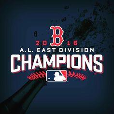 Congratulations @redsox  The #RedSox are AL East Champions again!  #Boston #BostonRedSox #BostonStrong #GoSox #RedSoxNation #RSN