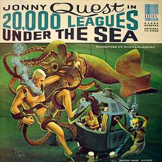 I dig the artwork on this Jonny Quest record.