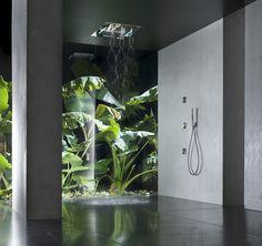 Atrium Design, Villa Design, Art Deco Bathroom, Bathroom Layout, Interior Garden, Bathroom Interior Design, Bedroom Decor For Couples, Diy Bedroom Decor, Garden Sitting Areas