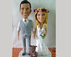 Custom Cake Toppers - Personalized Cake Topper Made From Photos To Match Your Own Wedding, Birthday And Anniversary. Personalized Wedding Cake Toppers, Custom Cake Toppers, Custom Cakes, Groomsman Gifts, Party Gifts, Bridesmaid Gifts, Wedding Cakes, Anniversary, Blog