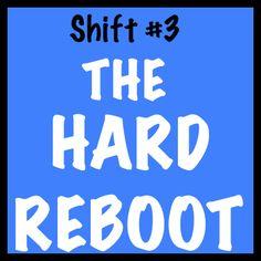 Must read: Hard Reboot.  Stock-take of life.