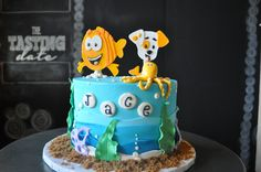 Bubble Guppies Birthday Cake Sugar Bee Sweets Bakery www.sugarbeesweets.com Wedding Cake Bakery, Wedding Cakes, Bubble Guppies Birthday Cake, Fort Worth Wedding, Custom Cakes, Party Cakes, A Boutique, Kid Cakes, Bubbles