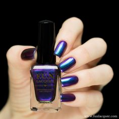 Spend the night or day away with this amazing blue, purple, red and green polish. Fully opaque in 2-3 coats! Collection: Love 2015 Collection