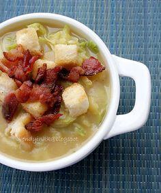 Potato Savoy Cabbage Soup