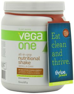 Amazon.com: Vega One Nutritional Shake, Vanilla Chai, 15.4 Ounce: Health & Personal Care