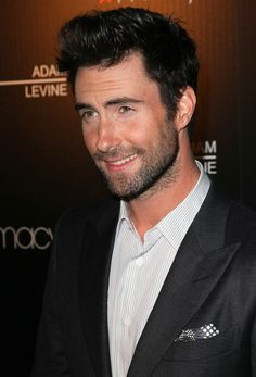 Adam Levine...he looks sweet and innocent here, but he seems to be a butt